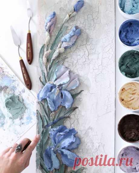 Скульптурная живопись декоративной штукатуркой: мастер классы для начинающих