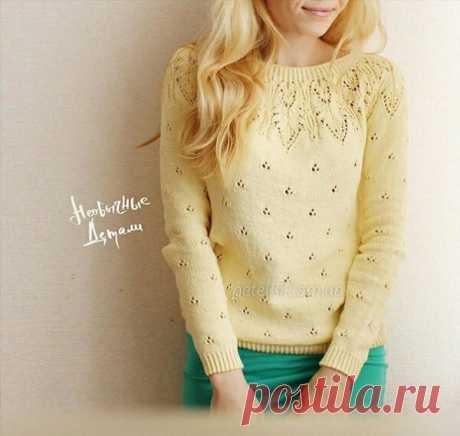 Всем привет , увидела в комментариях этот пуловер, подскажите пожалуйста есть ли где нибудь мк ?