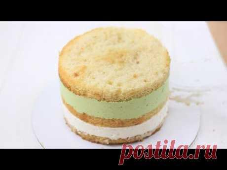 ТОРТ МОХИТО - ЧТО ВНУТРИ? Рецепт торта с освежающей начинкой. Торт тает во рту. Бисквитный торт