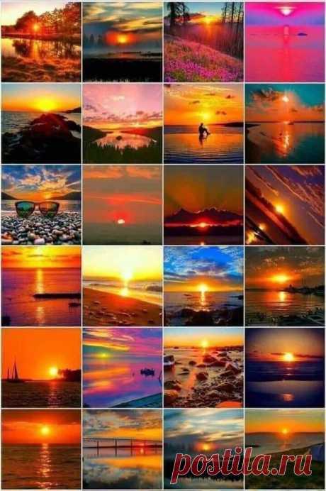 Рассветы и закаты.... 🌅