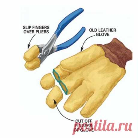 Оригинальное усовершенствование для плоскогубцев: делаем своими руками