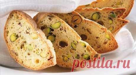 Бискотти с орехами - Печенье