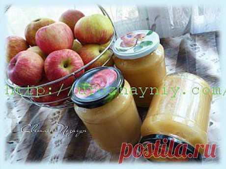 Яблочное пюре Неженка | Урожайная дача