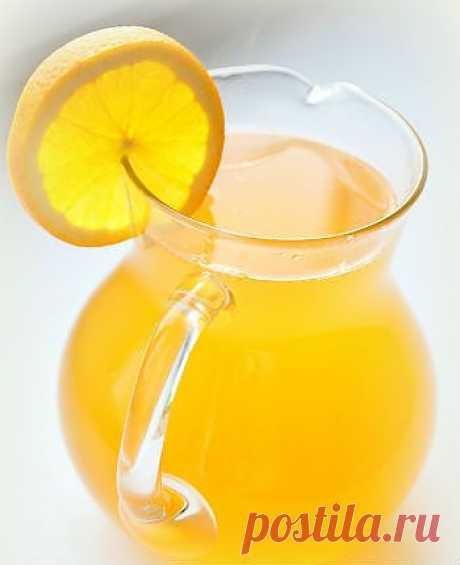 Компот из тыквы с лимоном.