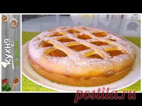 Быстрый пирог с ВАРЕНЬЕМ из жидкого теста | Без миксера | Простая и вкусная выпечка на каждый день