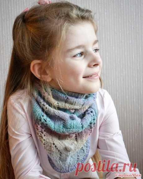 Радужная манишка - Вязание для детей - Страна Мам