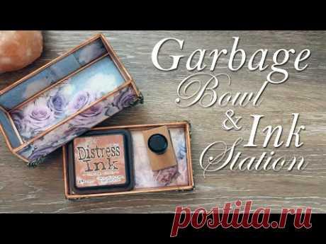 Garbage Bowl & Ink Station
