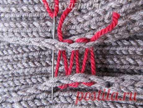 сшиваем вязаные изделия светлана галич простые схемы экономим
