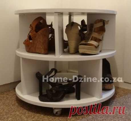 Полка-сидушка для обуви