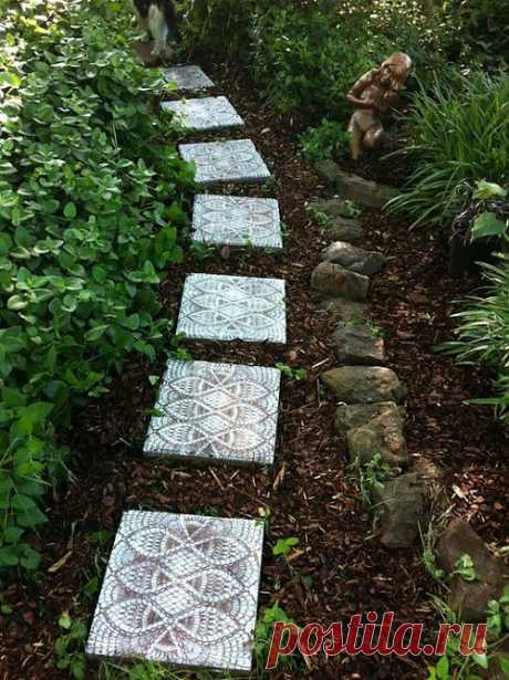 Lace tile for giving — a master class | My Milady
