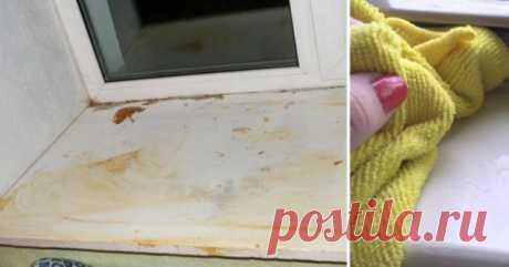 Желтизна - напасть пластиковых подоконников. Как снова сделать их белыми и сияющими - topovoye.ru