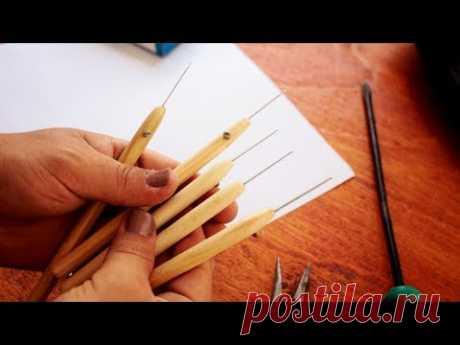 DIY- COMO FAZER: AGULHAS PARA BORDAR PEDRARIAS- [ Embroidery Needles] Ep.218 - YouTube