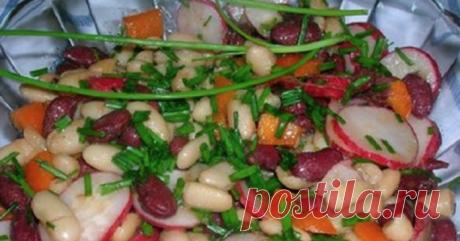 Постный картофельный салат «Деревенский»: вкус в простоте!