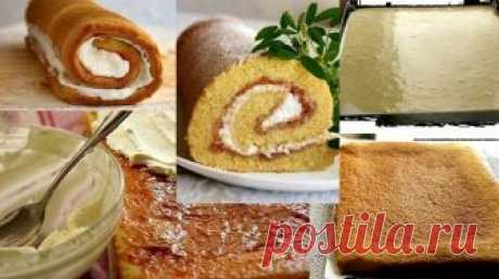 Fast roll or recipe of very successful biscuit