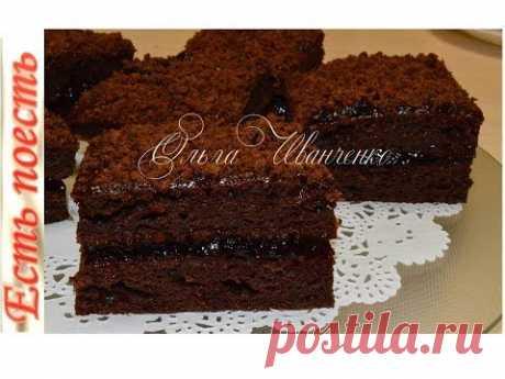 Пирожное Ночка на кефире рецепт с фото