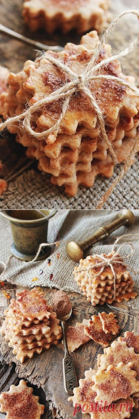 Швейцарское хрустящее печенье с корицей - Учусь писать обиды на песке и радости гравировать на камне — LiveJournal