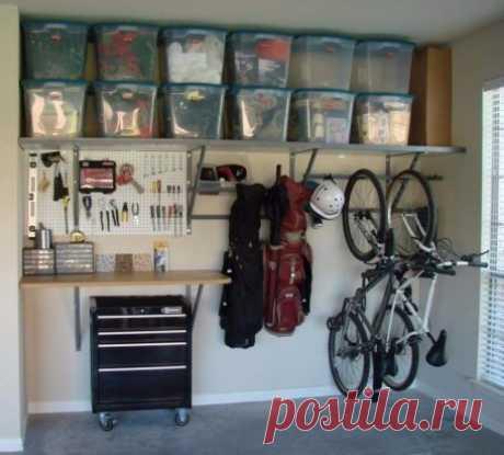 Идеальный порядок в гараже