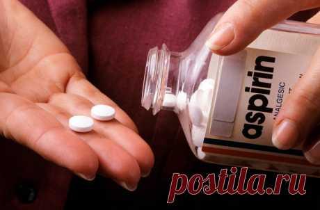 3 интересных трюка с аспирином — Полезные советы