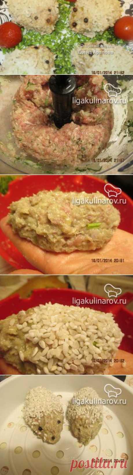"""Мясные ежики с рисом """"Забава"""", рецепт пошаговый от Лиги Кулинаров. Рецепт мясных ежиков с рисом """"Забава"""", рецепты Лиги Кулинаров."""