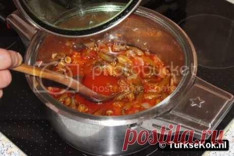 Bamya yemeği RECEPT (Bamya yemeği tarifi , Bamya yemeği nasil yapilir)