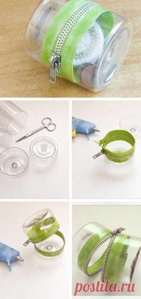 Вторая жизнь пластиковой бутылки.