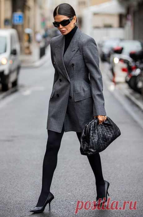 Когда носить телесные, а когда черные колготки: 9 правил, которые надо знать