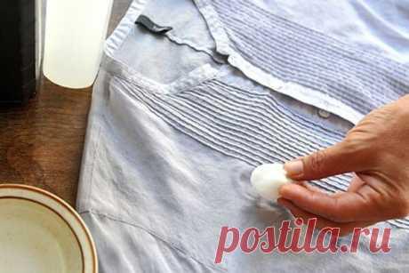 Отнесла блузку в химчистку. Мама меня отругала и дала 5 советов как вывести почти любое пятно | 101 полезный совет | Яндекс Дзен