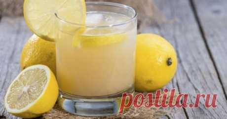 Лимонный напиток, который сжигает жир, как сумасшедший! - Счастливые заметки