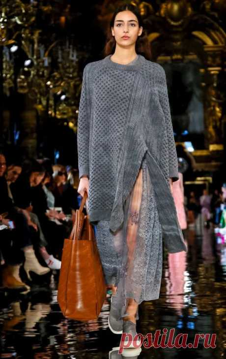 Модное вязание: 100+ новинок и тенденций Осень-Зима 2018-2019