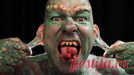 сообщение Goodwine : Люди, которые отличаются от нас внешностью, ну, и наверное умом тоже... (16:52 01-06-2014) [3006307/326435316] - kiyashko_1964@mail.ru - Почта Mail.Ru   Человек-ящер
