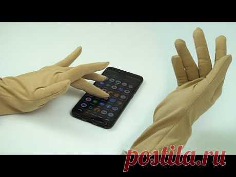 Как сшить перчатки за 10 минут