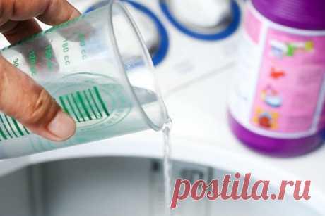 Кислая стирка, или как с помощью уксуса избежать любых проблем с чистотой вещей — Despasito!
