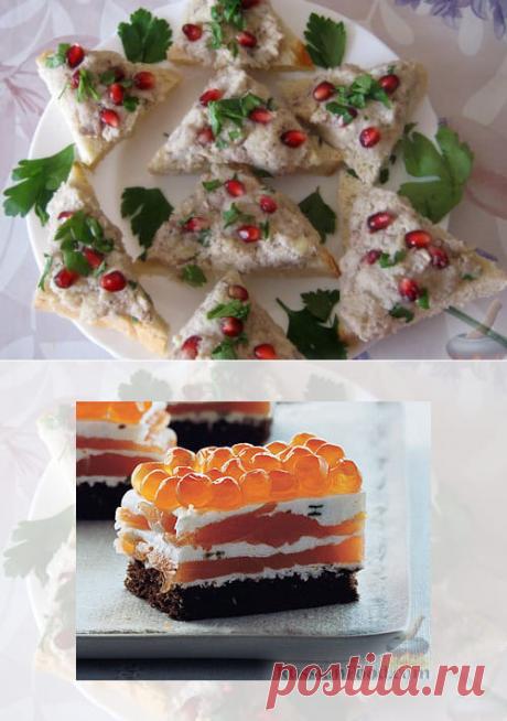 🍀 Бутерброды на Новый год: простые и замысловатые рецепты для вашего стола