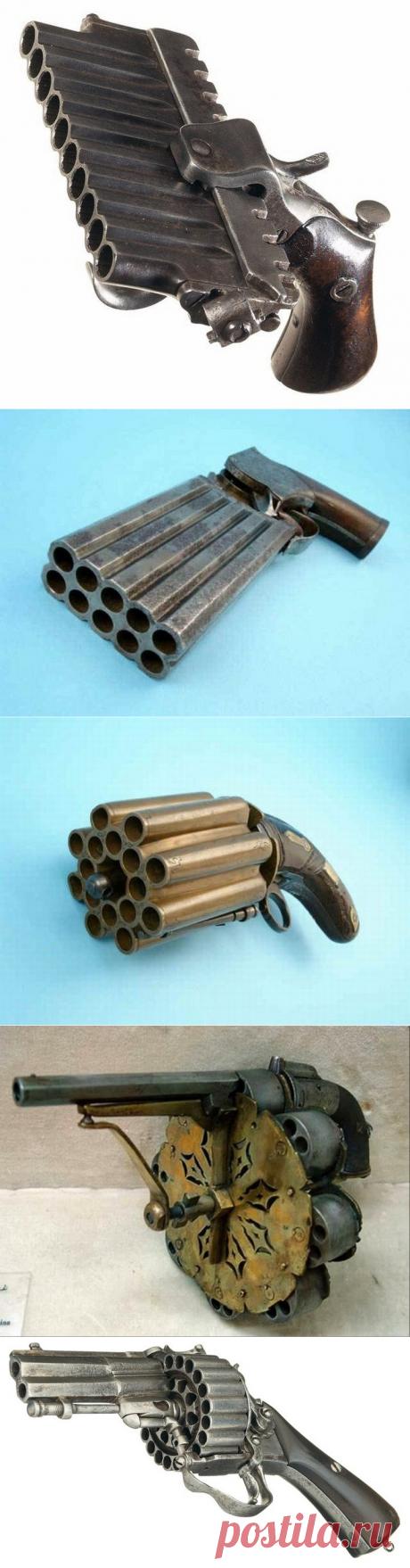 Крутые стволы для тех, кому всегда мало патронов