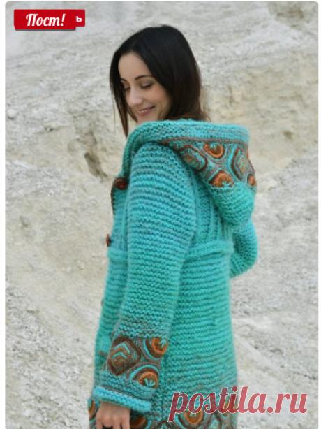Дизайнерское вязание - Вязание спицами - Вязание спицами и крючком