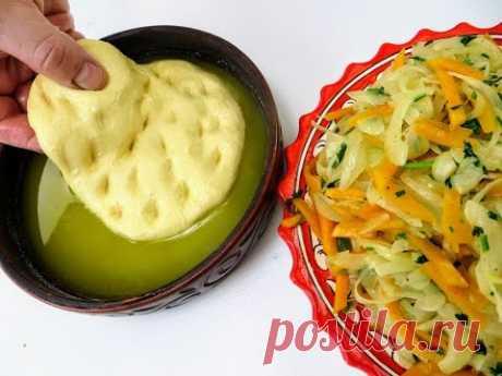 Окуните тесто в масло и приготовьте эту начинку / Нереально вкусный БАГЕТ-ПИРОГ