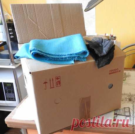 Как сделать декоративный короб для интерьера и хранения вещей
