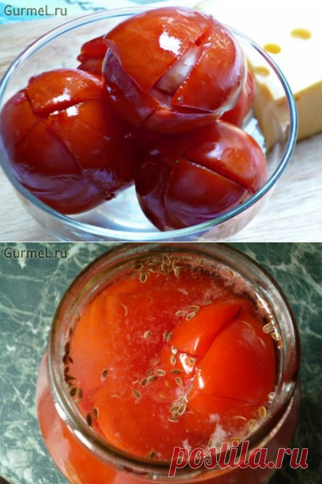 """Tomatoes \""""as from a barrel\"""" (without vinegar). The recipe with a photo. Step-by-step photos. Gurmel"""