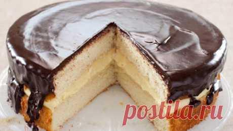 Сытно и вкусно: По вашим просьбам. Торт Чародейка – он же Бостонский кремовый торт