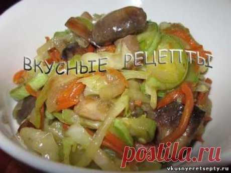 Замечательный рецепт приготовления вкусного овощного рагу с грибами. Это рагу получается очень нежным, ароматным и сытным. Прекрасно подходит для поста
