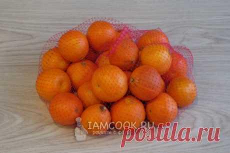 Джем из мандаринов в микроволновке — рецепт с фото пошагово