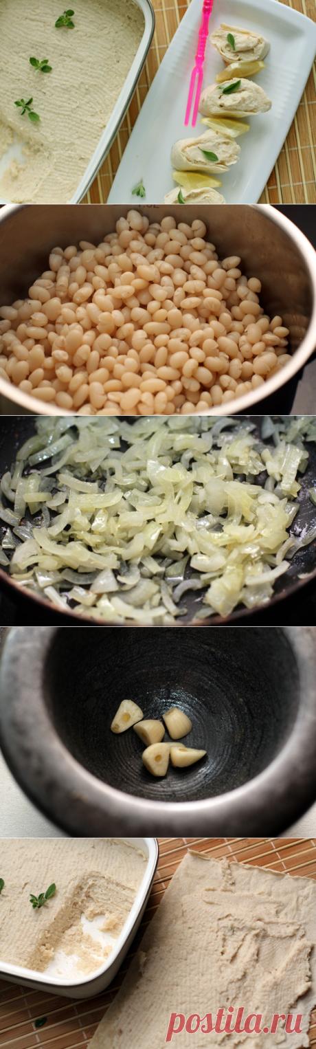 Для тех, кто постится или просто любит здоровую пищу! Паштет из фасоли — Вкусные рецепты