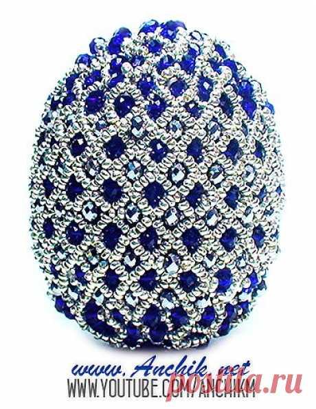 Пасхальное яйцо из бисера своими руками / Видеоуроки, Пасхальные изделия / Biserok.org