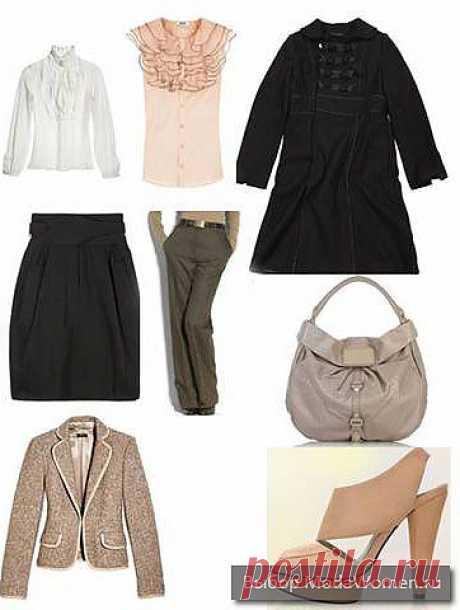В базовый гардероб чаще всего входят  вещи двух основных стилей – классического и повседневного, свободного. Вы сами выбираете в каких пропорциях их сочетать.