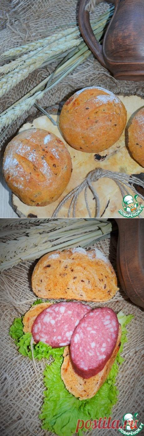 """Томатные булочки """"Походные"""" – кулинарный рецепт"""