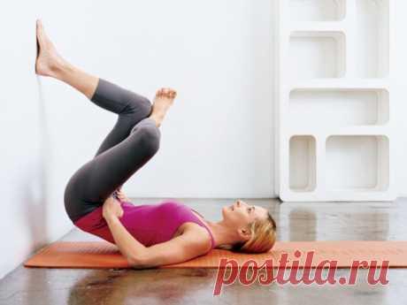 Выполняйте эти упражнения 2 недели и заметите, как исчезает ваш животик