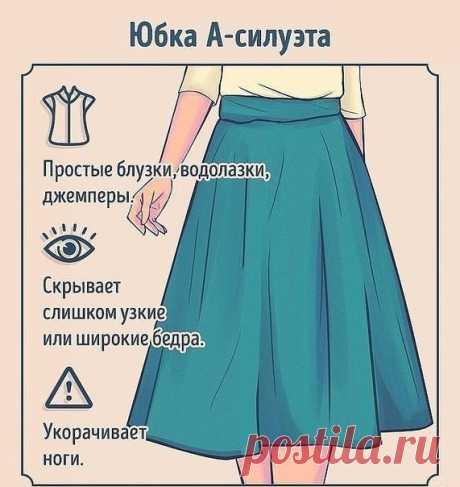 Как носить и с чем сочетать разные виды юбок. На заметку!