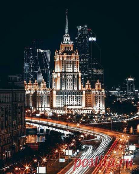 Невероятная Москва в непривычных ракурсах