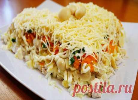 Вкусный салатик «Русская красавица»