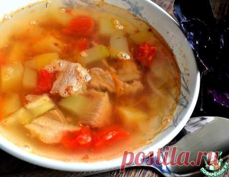 """Гречневый суп """"Летний"""" – кулинарный рецепт"""